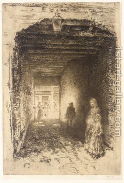 The Beggars by James Abbott McNeill Whistler - Reproduction Oil Painting