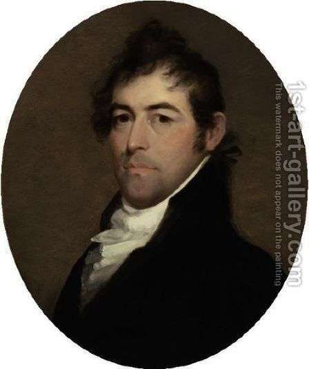 Portrait Of Dr. William Hall Richardson by Matthew Harris Jouett - Reproduction Oil Painting