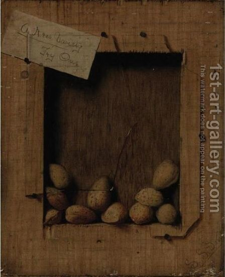 Still Life With Almonds by De Scott Evans - Reproduction Oil Painting