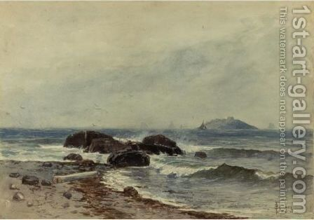 Coastal Scene 3 by Alfred Thompson Bricher - Reproduction Oil Painting