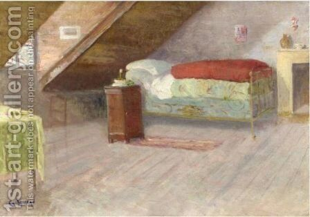 La Chambre by Gustave Loiseau - Reproduction Oil Painting