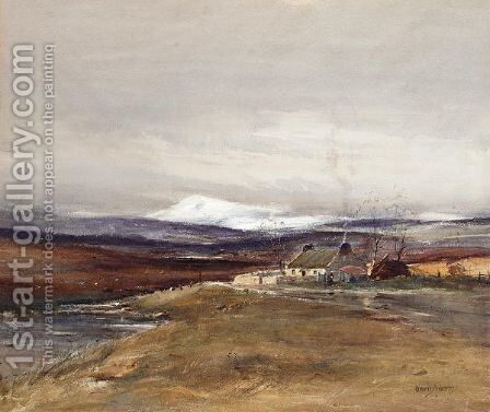 Dallas Moor by David West - Reproduction Oil Painting