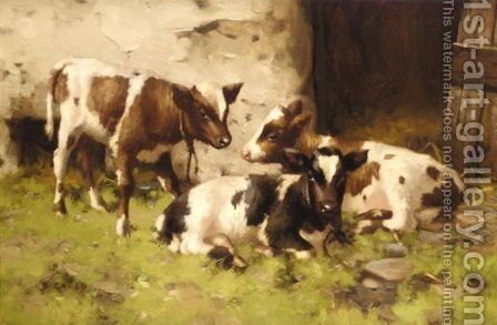 First Steps 2 by David Gauld - Reproduction Oil Painting