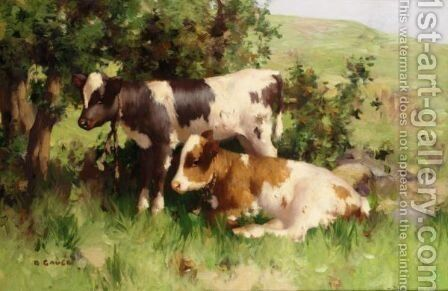 Summer Shade by David Gauld - Reproduction Oil Painting