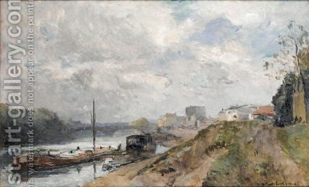 Bords De Riviere by Albert Lebourg - Reproduction Oil Painting