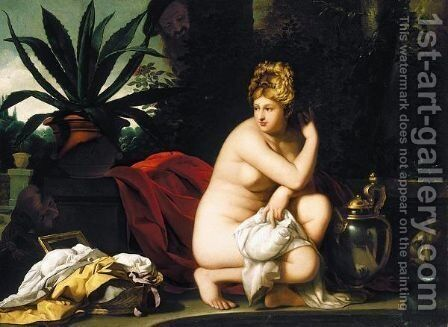 Susanna And The Elders by (after) Abraham Janssens Van Nuyssen I - Reproduction Oil Painting