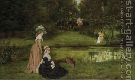 Tis Better To Have Loved And Lost by Arthur Langley Vernon - Reproduction Oil Painting