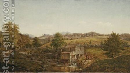 Old Mill by Henry Chapman Ford - Reproduction Oil Painting