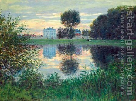 L'Arbre En Boule, Argenteuil by Claude Oscar Monet - Reproduction Oil Painting