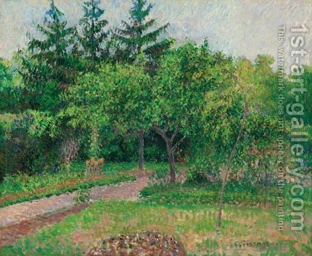 Le Jardin D'Eragny by Camille Pissarro - Reproduction Oil Painting