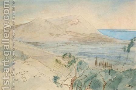 Ithaca, Ionian Islands by Edward Lear - Reproduction Oil Painting