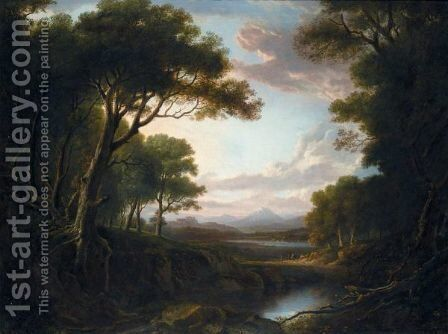 View Of Stirling Castle From Dunmore Park by Alexander Nasmyth - Reproduction Oil Painting