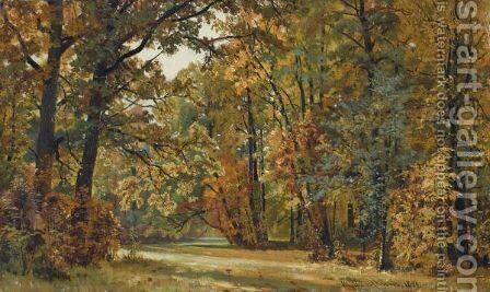 The Clearing by Ivan Shishkin - Reproduction Oil Painting