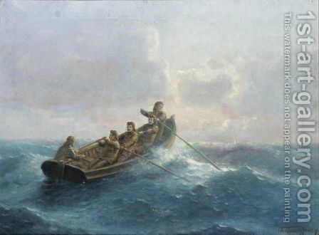 Out To Sea by Emilios Prosalentis - Reproduction Oil Painting