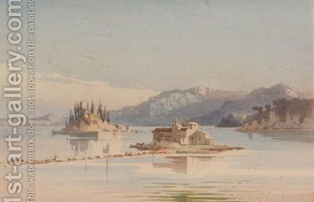 View Of Corfu 5 by Angelos Giallina - Reproduction Oil Painting