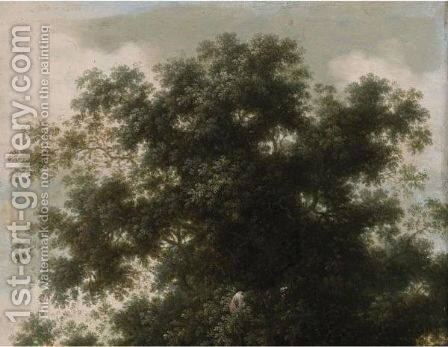 Study Of Trees by Dutch School - Reproduction Oil Painting