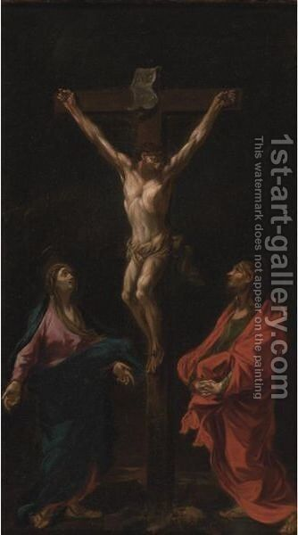 Crucifixion by (after) Alessandro Magnasco - Reproduction Oil Painting