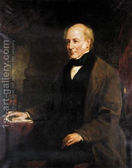 Portrait Of James Drummond (1788-1857), The Son Of The Hon William F. Elphinstone by (after) James Snr. Faed - Reproduction Oil Painting
