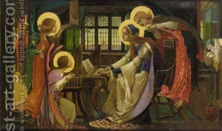 St Cecilia by Edward Reginald Frampton - Reproduction Oil Painting