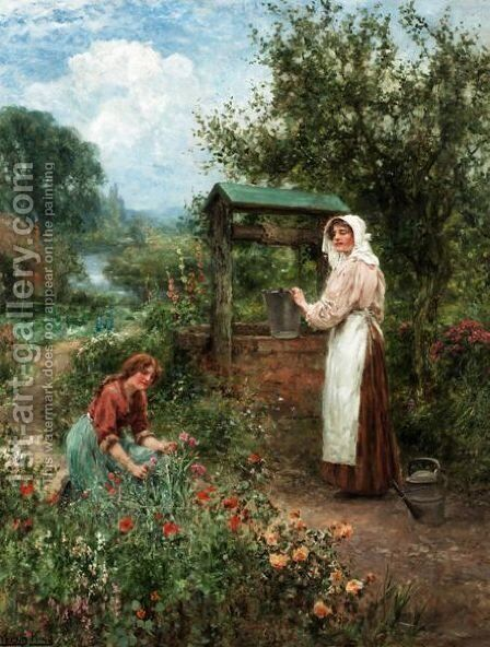 At The Well by Henry John Yeend King - Reproduction Oil Painting