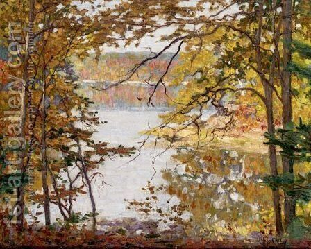 On The Sheepscott River, Maine by Aloysius O'kelly - Reproduction Oil Painting