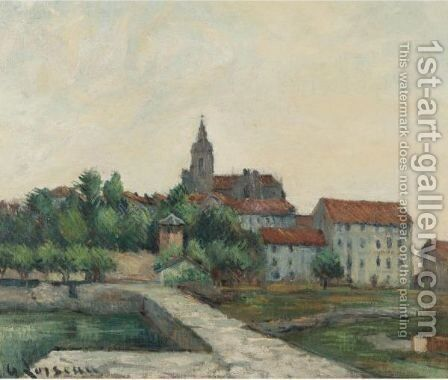 Paysage 2 by Gustave Loiseau - Reproduction Oil Painting