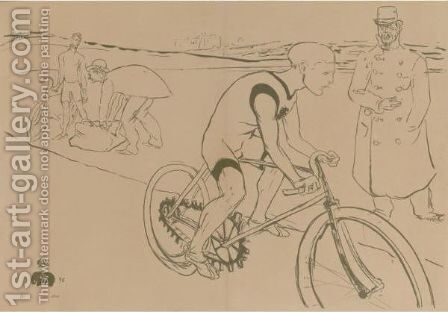 Cycle Michael by Toulouse-Lautrec - Reproduction Oil Painting