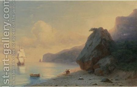 Crimea by Ivan Konstantinovich Aivazovsky - Reproduction Oil Painting