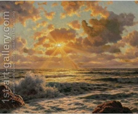 Sunrise 2 by Ivan Fedorovich Choultse - Reproduction Oil Painting