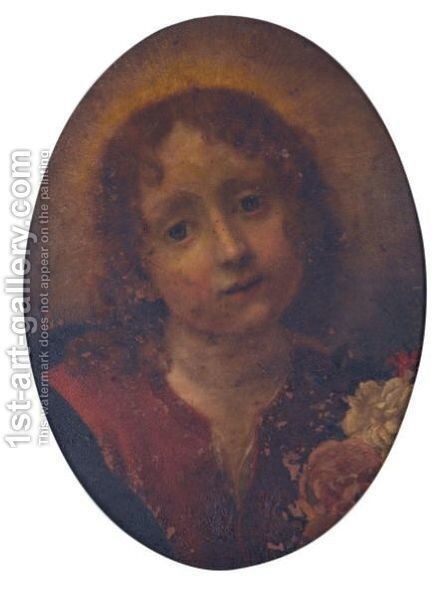 The Christ Child by (after) Carlo Dolci - Reproduction Oil Painting