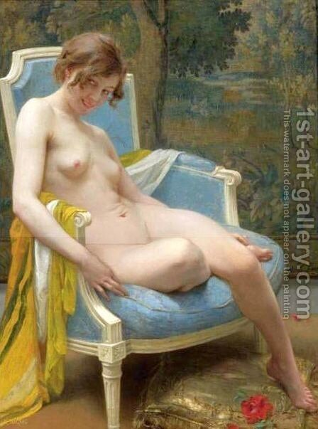 Daphne by Guillaume Seignac - Reproduction Oil Painting