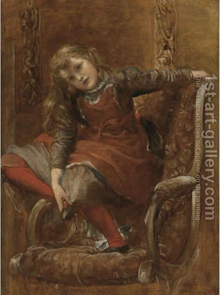 Blanche by George Frederick Watts - Reproduction Oil Painting