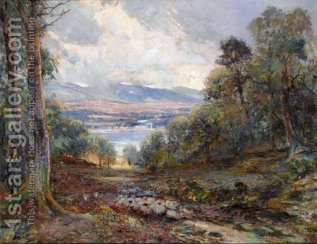 In The Trossachs by Archibald Kay - Reproduction Oil Painting