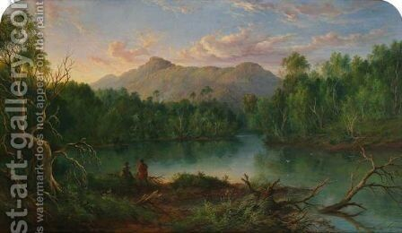 Mount Dromedary by James Howe Carse - Reproduction Oil Painting