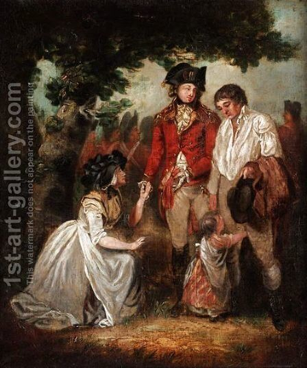 The Pardon by (after) George Morland - Reproduction Oil Painting