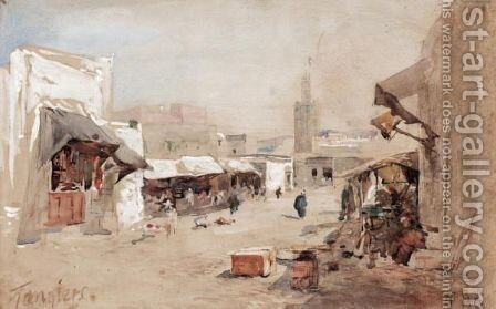 Tangiers by Hercules Brabazon Brabazon - Reproduction Oil Painting