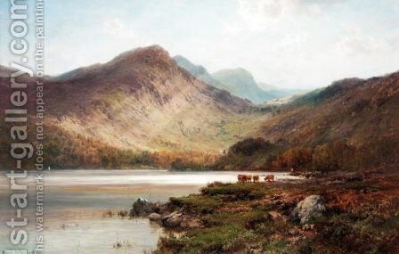 Benmore by Alfred de Breanski - Reproduction Oil Painting
