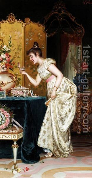 Her Favourite Bracelet by A. Gobi - Reproduction Oil Painting