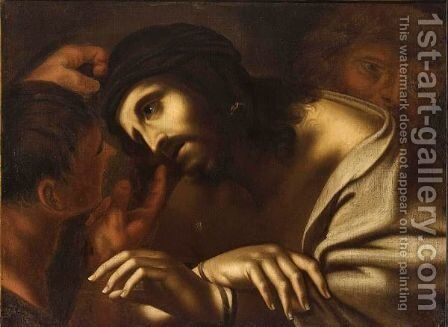 The Mocking Of Christ by Annibale Carracci - Reproduction Oil Painting