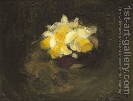 Daffodils by James Stuart Park - Reproduction Oil Painting