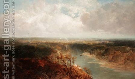 Near Richmond, Yorkshire by James Webb - Reproduction Oil Painting