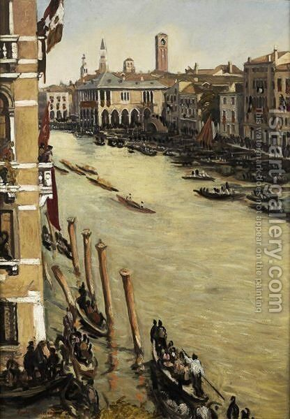 Venise by Emile Bernard - Reproduction Oil Painting