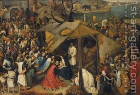 The Adoration Of The Magi by (after) Pieter The Younger Brueghel - Reproduction Oil Painting