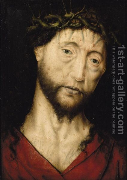 Christ Crowned With Thorns by (after) Aelbrecht Bouts - Reproduction Oil Painting