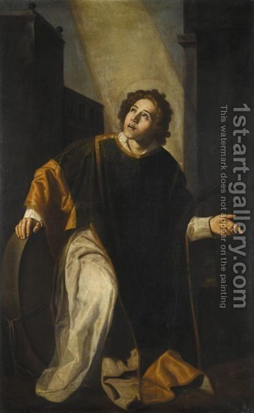 Saint Vincent Of Saragossa by Jeronimo Jacinto Espinosa - Reproduction Oil Painting