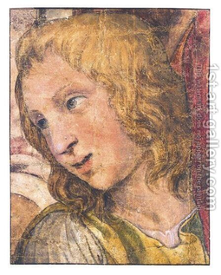Head Of A Youth by (after) Giulio Pippi, Called Giulio Romano - Reproduction Oil Painting