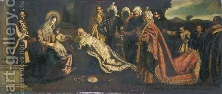 The Adoration Of The Magi by (after) Pedro Orrente - Reproduction Oil Painting