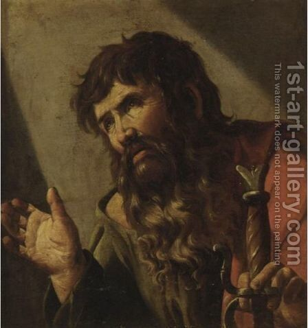 Saint Paul by Neapolitan School - Reproduction Oil Painting