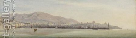 Genoa by Edward William Cooke - Reproduction Oil Painting