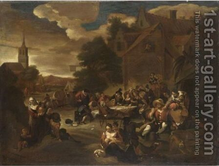Kermesse by Netherlandish School - Reproduction Oil Painting
